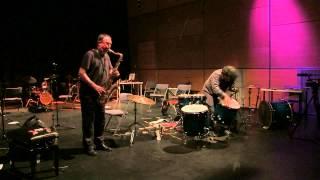 Gino Robair & John Butcher at GioFest 2014
