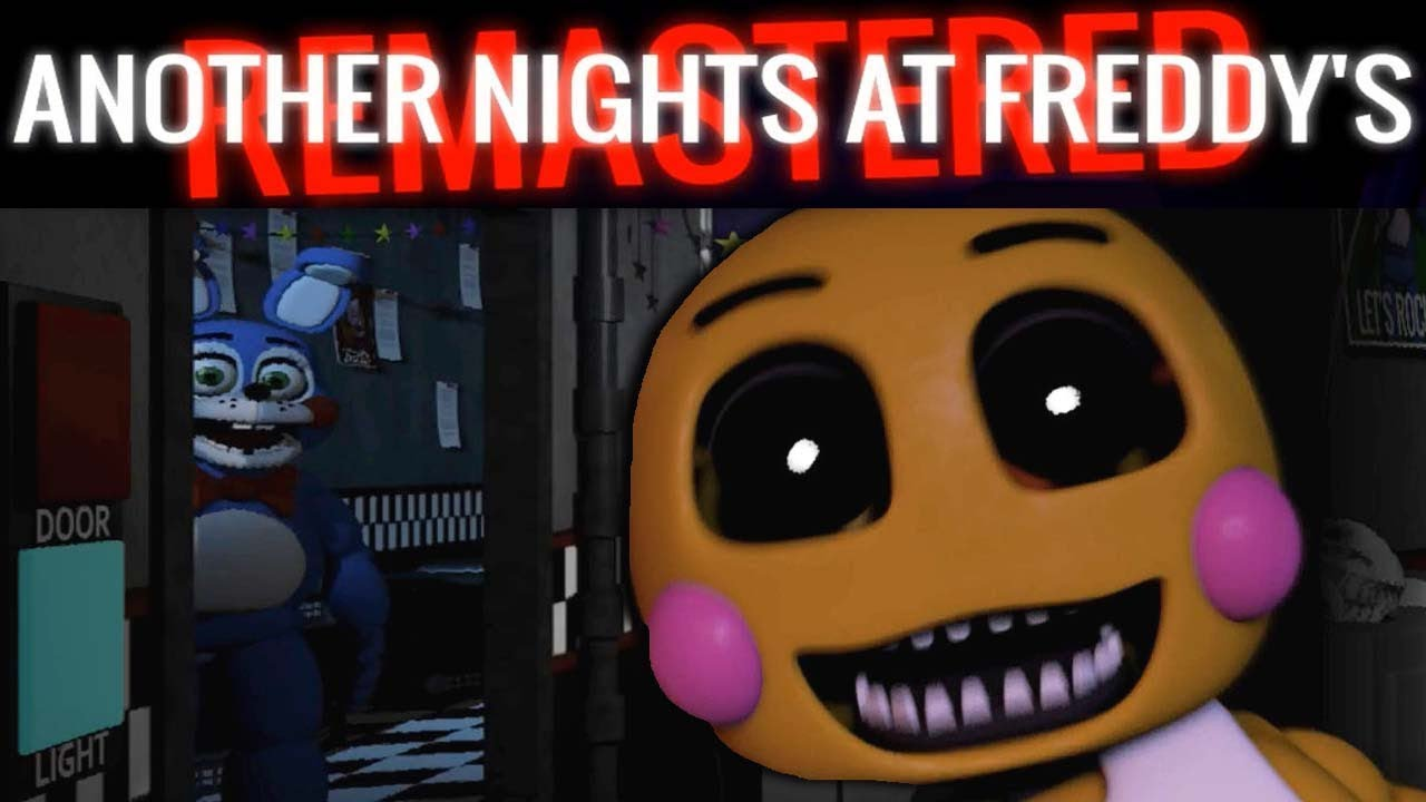 BONNIE AND CHICA JUMPSCARE ME!! MINIGAME COMPLETED! | Another Nights at  Freddy's (FNAF)