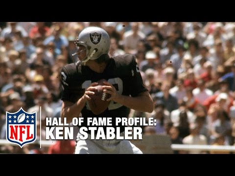 Ken Stabler (Raiders, QB) Career Feature | 2016 Pro Football Hall of Fame | NFL