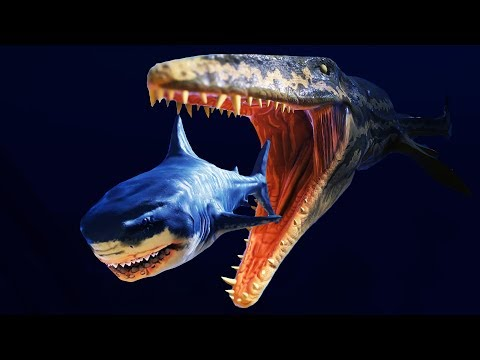 NEW Prehistoric PREDATORS! - Feed And Grow Fish Gameplay