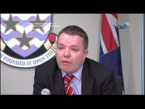 Auditor General's Report on Governance in the Cayman Government, Jan 22 2014