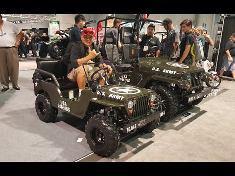 125cc Jeep Gokart Sema 2016 Youtube
