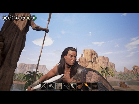 Conan Exiles - Becoming the Chieftain, Thralls, Fist Fight! Full Commentary! Plus Yow Clever!