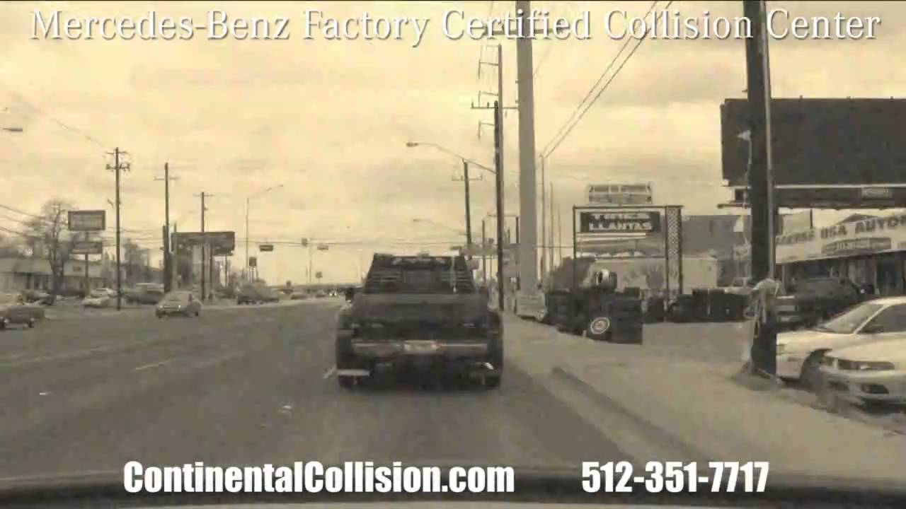 Mercedes benz of austin factory certified collision center for Mercedes benz collision center