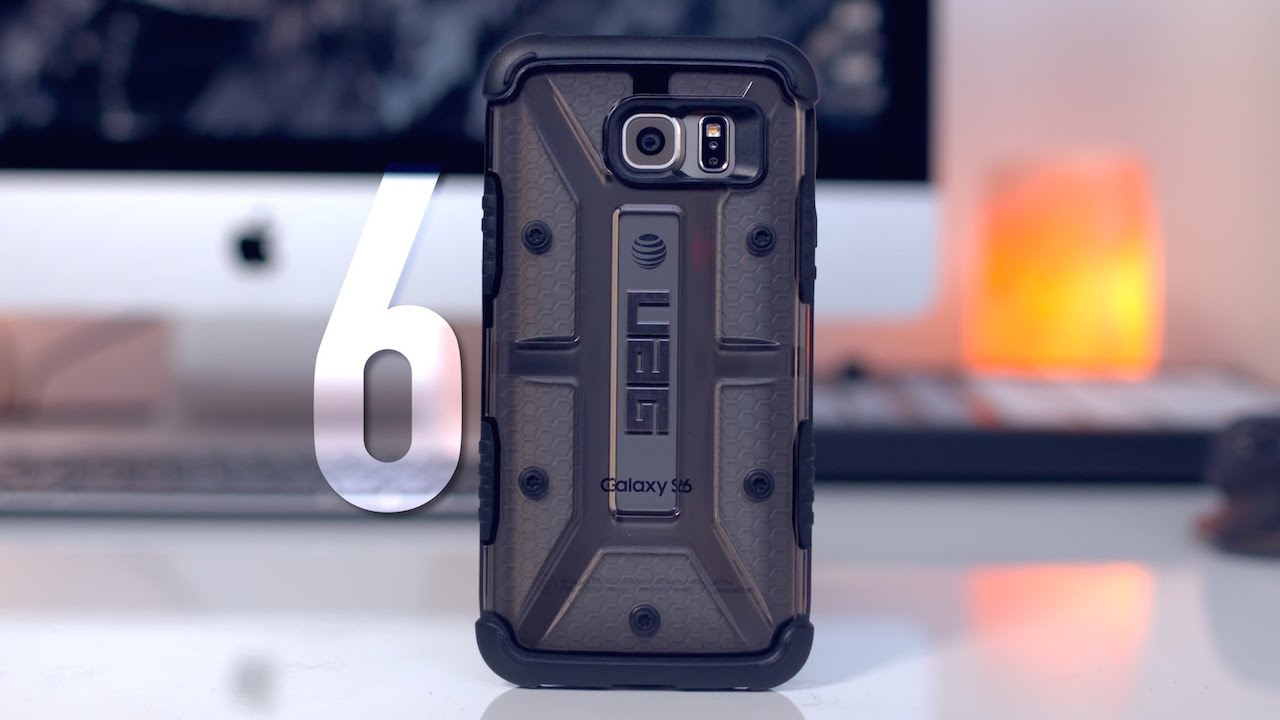 Top 6: Best Galaxy S6 Cases! - YouTube