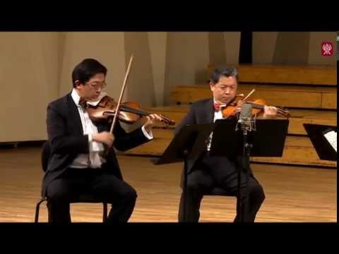 Shanghai Quartet at the Central Conservatory in Beijing