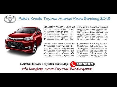 Cicilan Grand New Avanza 2007 Toyota Yaris Trd Parts Kredit Veloz Bandung Oktober 2018 Youtube