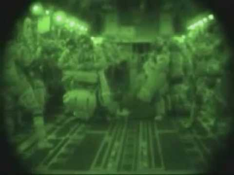 173rd Airborne Brigade Jump Into Northern Iraq (2003)