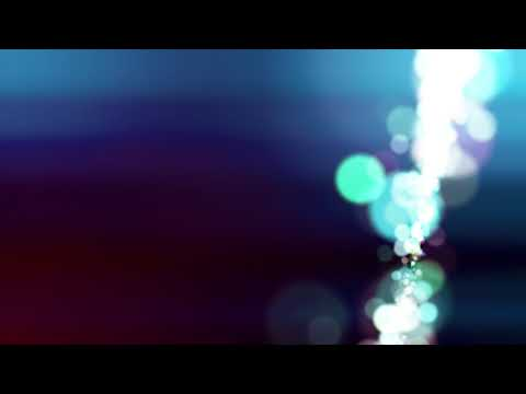 Light Particle Bokeh Blue [free Stock Video Footage]