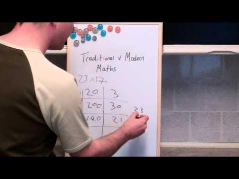 Traditional v Modern Maths