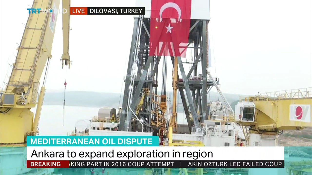 Turkey deploying second drilling ship to Mediterranean Sea