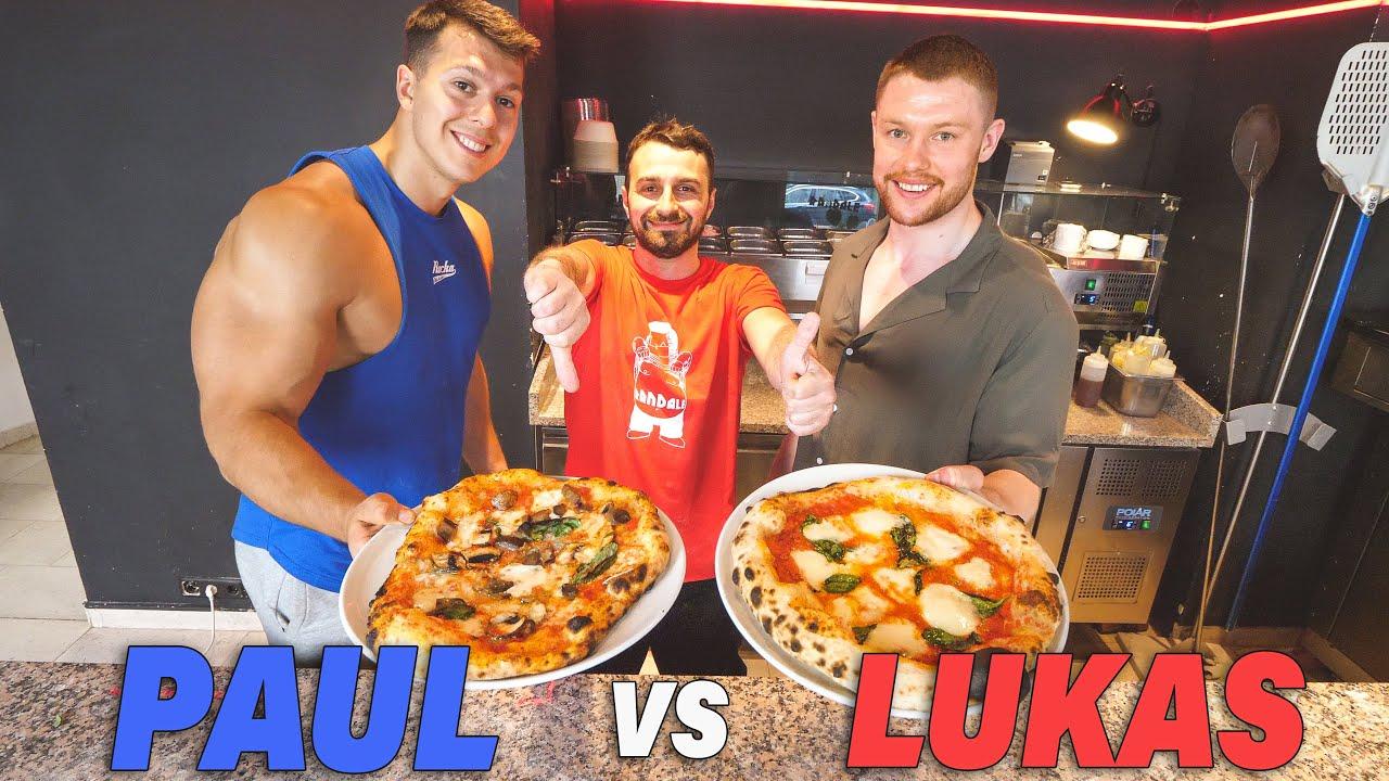 Wer macht die bessere Pizza? DAS PIZZA DUELL mit @Paul Unterleitner