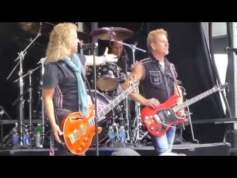 NIGHT RANGER Sing Me Away LIVE Fox And Friends, Manhattan N.Y. Aug 21,2015