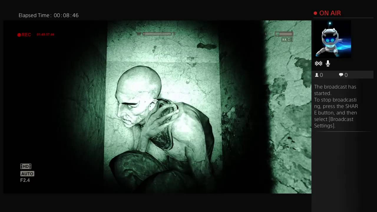 Outlast Gameplay/Horror game - YouTube