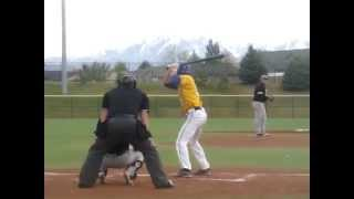 Derrick Whitney - Home Run - Cate Field - 4/24/2014