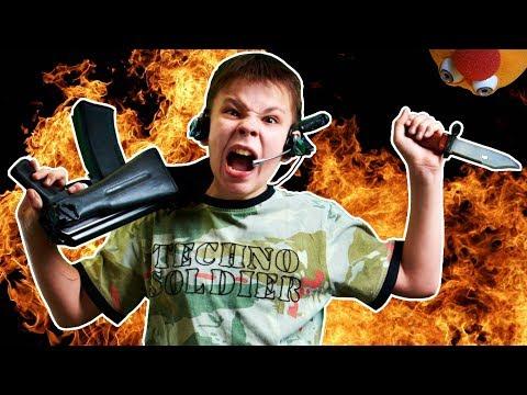 PROOF Violent Video Games Cause Violence!