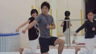 Kaishi Dojo: Team Kata - Takumi Sugino, Kanon Kimura, Kate Tano