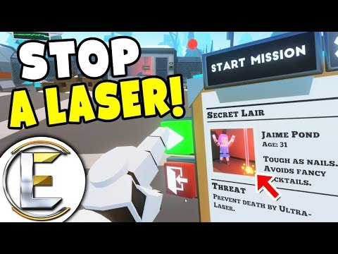 STOP A LASER HITTING A AGENT! - Just In Time Incorporated (Controlling Fate in Virtual Reality)