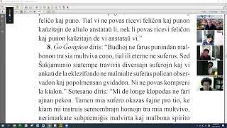 28 | La Sotesana Instruo de Ŭonbulismo | 에스페란토 원불교 대종경 공부 (zoom)