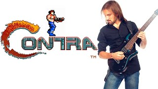 Repeat youtube video ➡ Contra (nes/dendy) - All stages OST Metal cover. With gameplay.