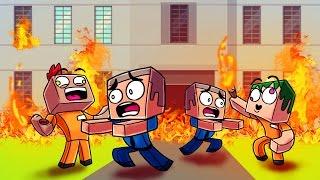 Minecraft | Prison Life - CRAZY GRIEFERS SENT TO ALCATRAZ! (Jail Break in Minecraft) #6