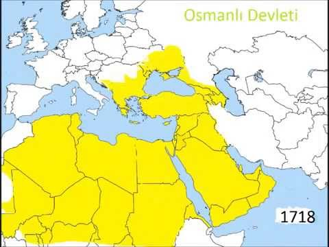The Real Ottoman Empire Map  YouTube