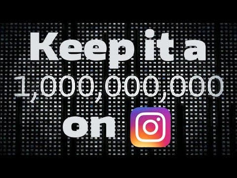 Keep It A Billion On Instagram (Episode 1.)