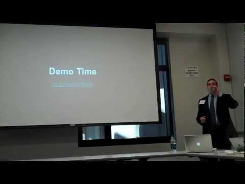 "Presentation of ""Assisted Decisionmaking: Big Data and the Law"" at Stanford Law School CodeX"