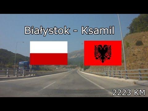Białystok (Poland) - Ksamil (Albania), 2223 km (x16)