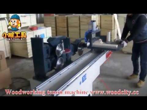 Woodworking Tenon Machine