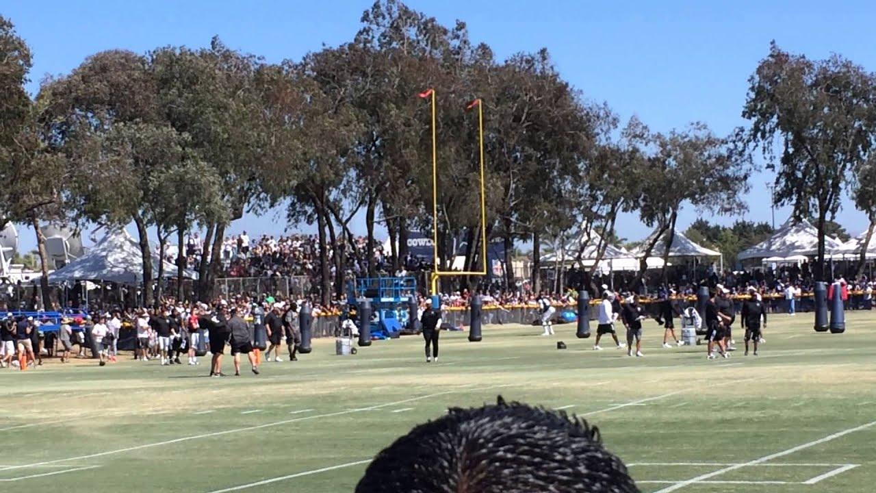 26aaba5b0a1 Oakland raiders invade Dallas cowboys training camp oxnard,ca 8/12 ...