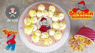Benjamin Blümchen Torte ganz einfach selber machen   Rezept und Anleitung   Kikis Kitchen