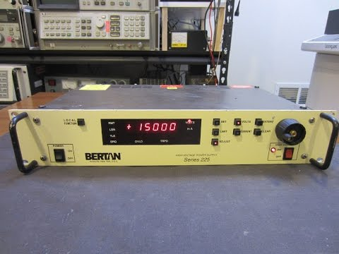 Bertan/Spellman 225 20kV HV Power Supply Teardown and Experiments
