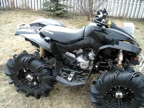 Can Am Renegade 800 >> Renegade 800X Dual Exhaust - YouTube