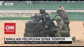 Simulasi Peliputan Zona Tempur TNI AU Ala PUBG