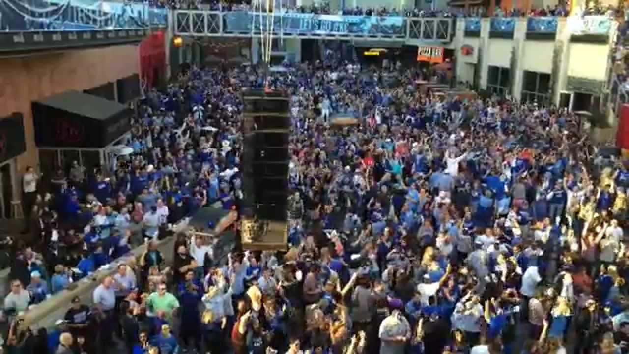 Royals Clinch World Series (Power And Light District)