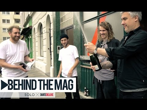 SOLO Skateboard Magazine - Behind The Mag | skatedeluxe