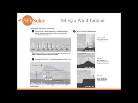 Off grid Wind Power Webinar