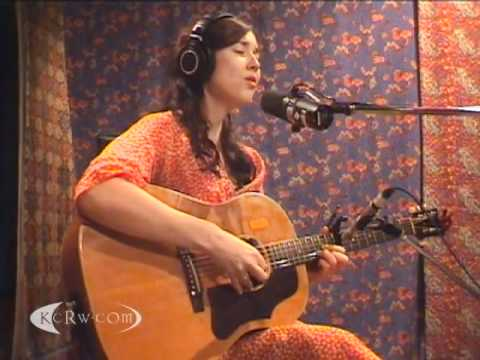 "Lisa Hannigan performing ""Little Bird"" on KCRW"