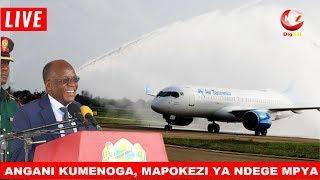 LIVE: ANGANI KUMENOGA, NDEGE NYINGINE MPYA YAWASILI