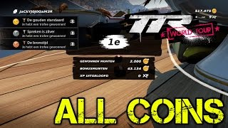 Table Top Racing: World Tour - All Coins Location - All Routes (Easy Trophies)