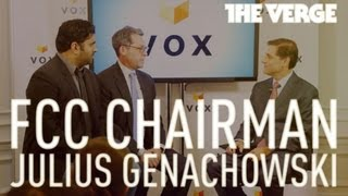FCC Chairman Julius Genachowski live from Vox Media in DC