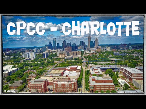 CPCC - Central Piedmont Community College -Charlotte NC (4K)(DJI Mavic Pro Footage) Aerial Charlotte