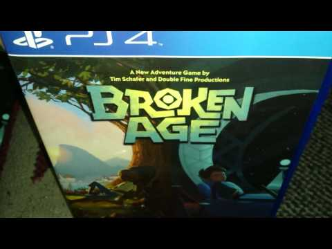 Nostalgamer Unboxing Broken Age On Sony PlayStation 4 Limited Run Games Region Free