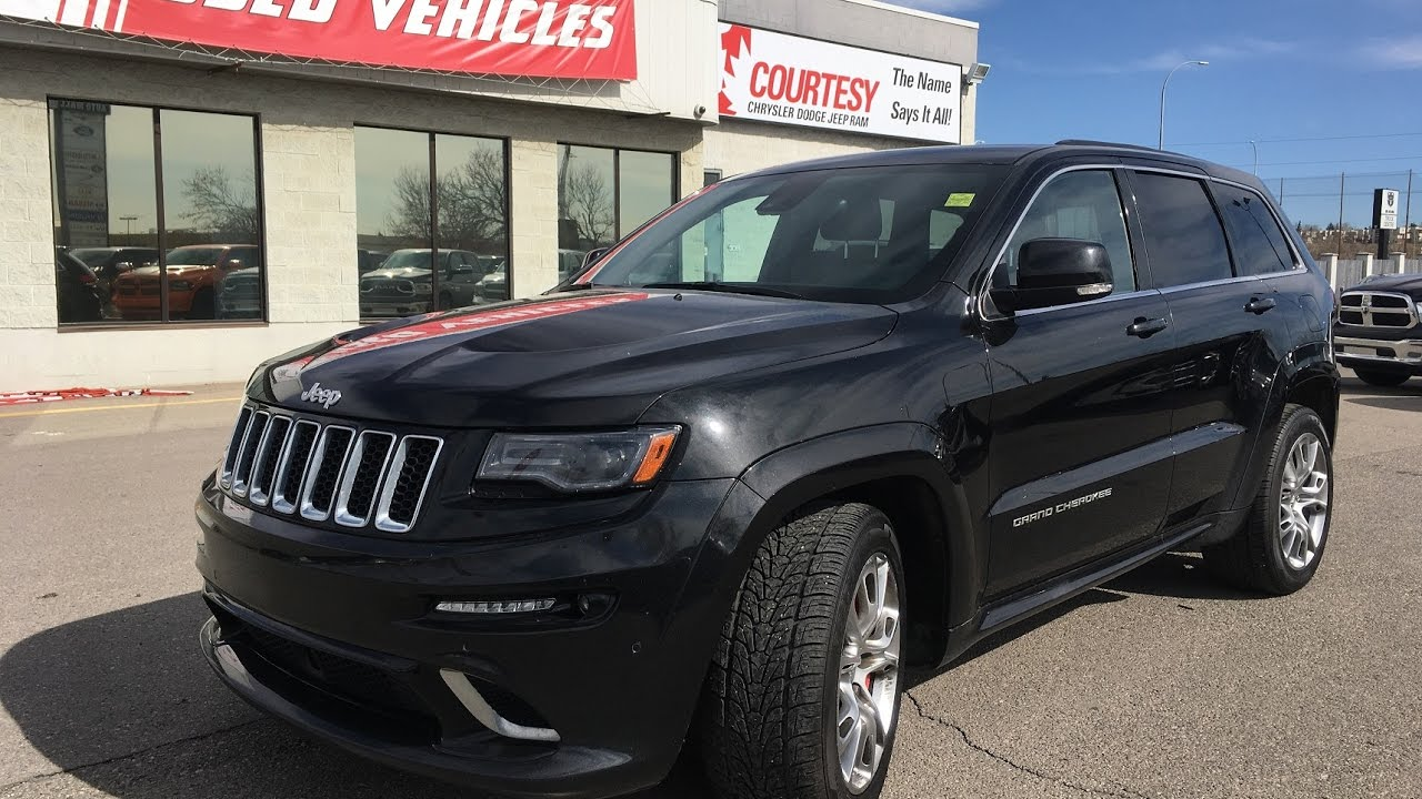 Exceptionnel 2014 Jeep Grand Cherokee | SRT | Brilliant Black Pearl | Courtesy Chrysler