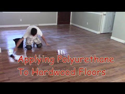 Refinishing Hardwood Floors  Sanding, Staining, And Applying Polyurethane