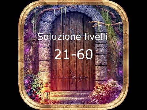 Soluzioni 100 Doors Incredible Walkthrough - Livelli 21-60 Levels 21-60