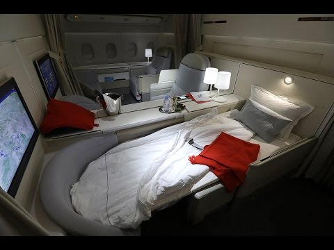 is air france la premi re the best first class in the world youtube. Black Bedroom Furniture Sets. Home Design Ideas