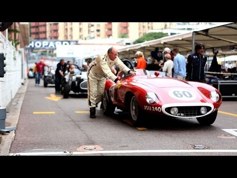 Classic F1 Cars Race Through Monte-Carlo at the Grand Prix