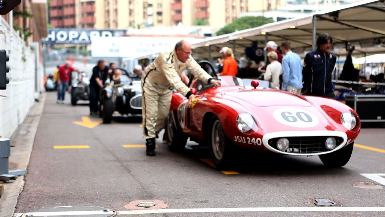 Classic F1 Cars Race Through Monte-Carlo at the Grand Prix - YouTube